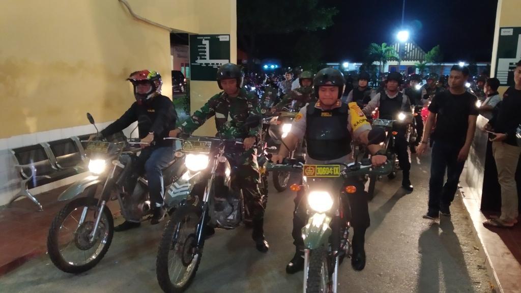 Tahun Baru Puluhan Sepeda Motor Diamankan