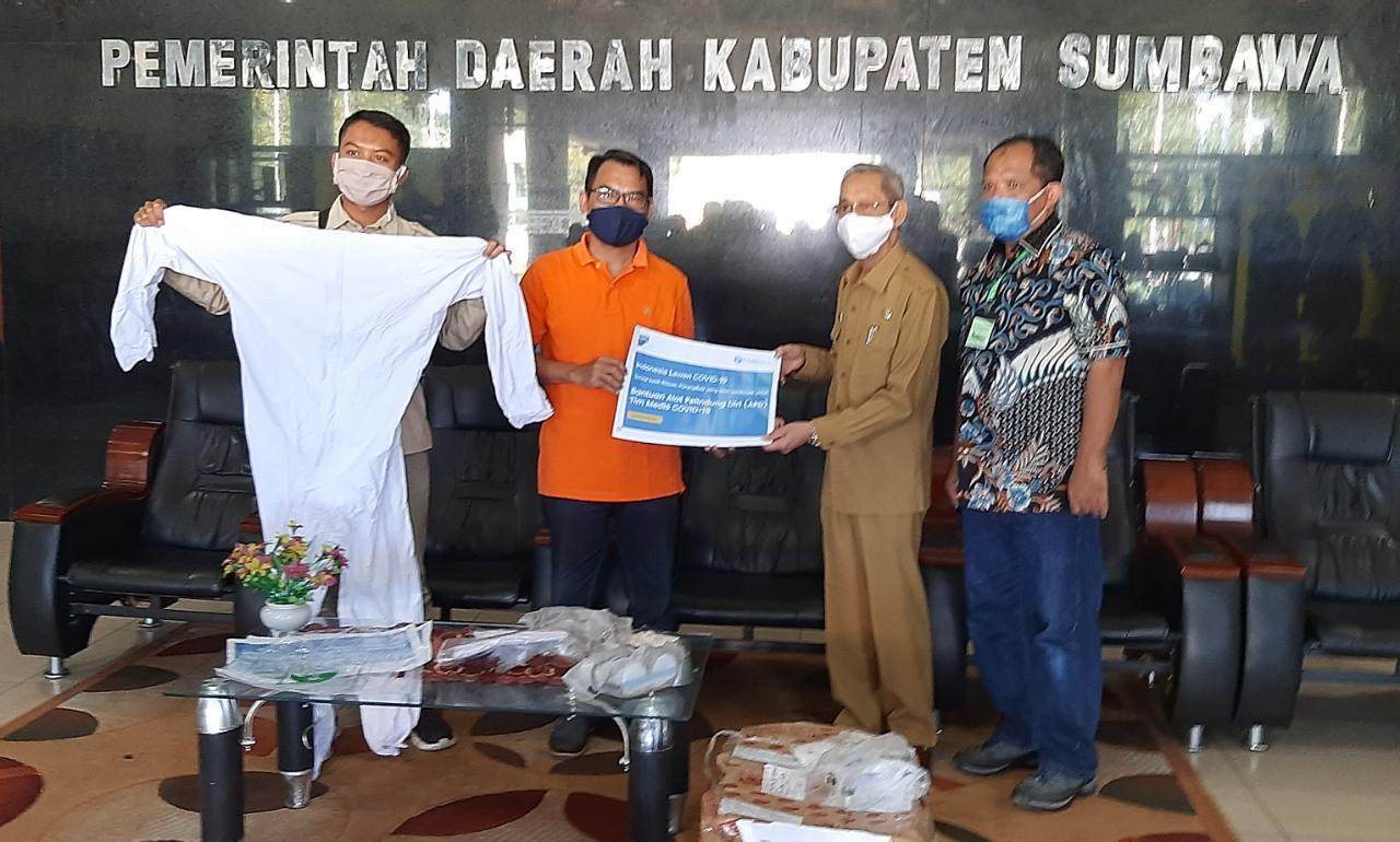 Filantra Bantu APD untuk Nakes Covid di Sumbawa