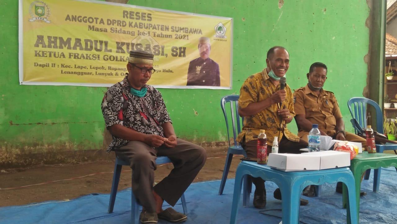 Reses di Mamak, Madul Komit Wujudkan Aspirasi Masyarakat