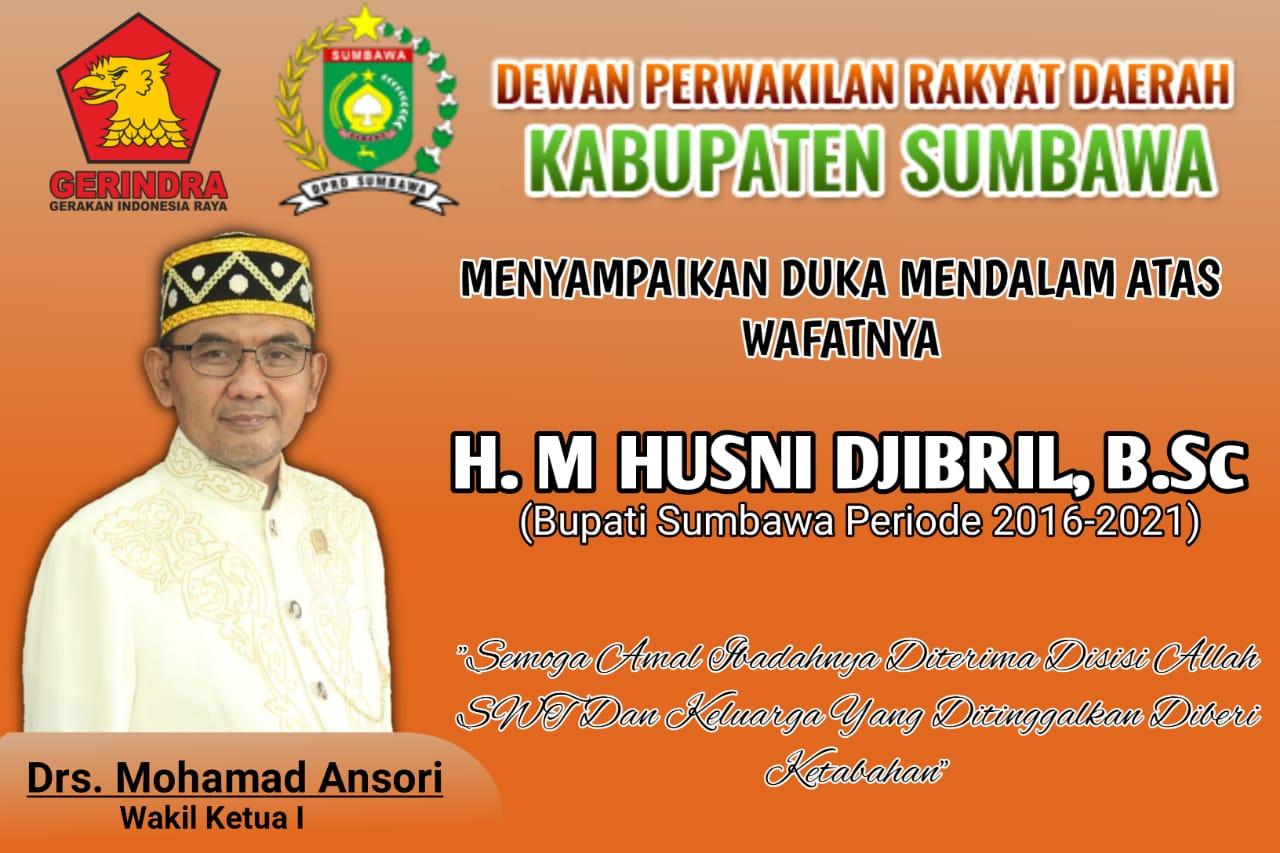 Ucapan Bela Sungkawa Pimpinan DPRD Sumbawa