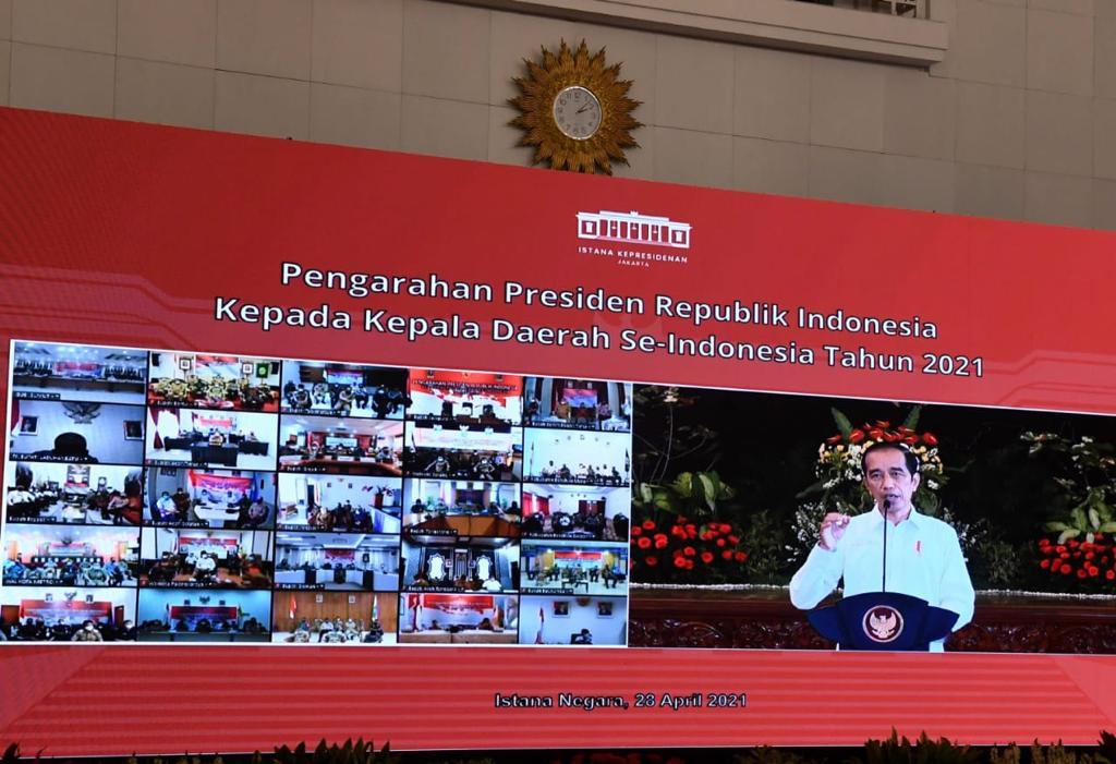 Presiden Peringatkan Semua Kepala Daerah