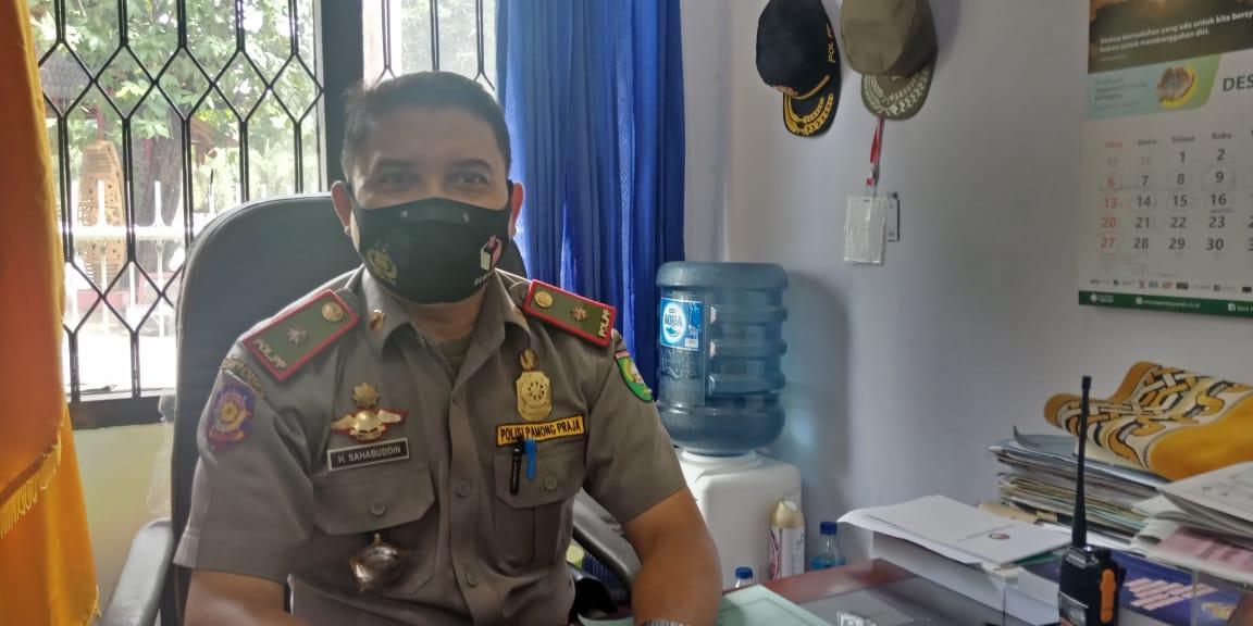 Operasi Yustisi, Pol PP Sumbawa Temukan Satu Orang Terkonfirmasi Positif
