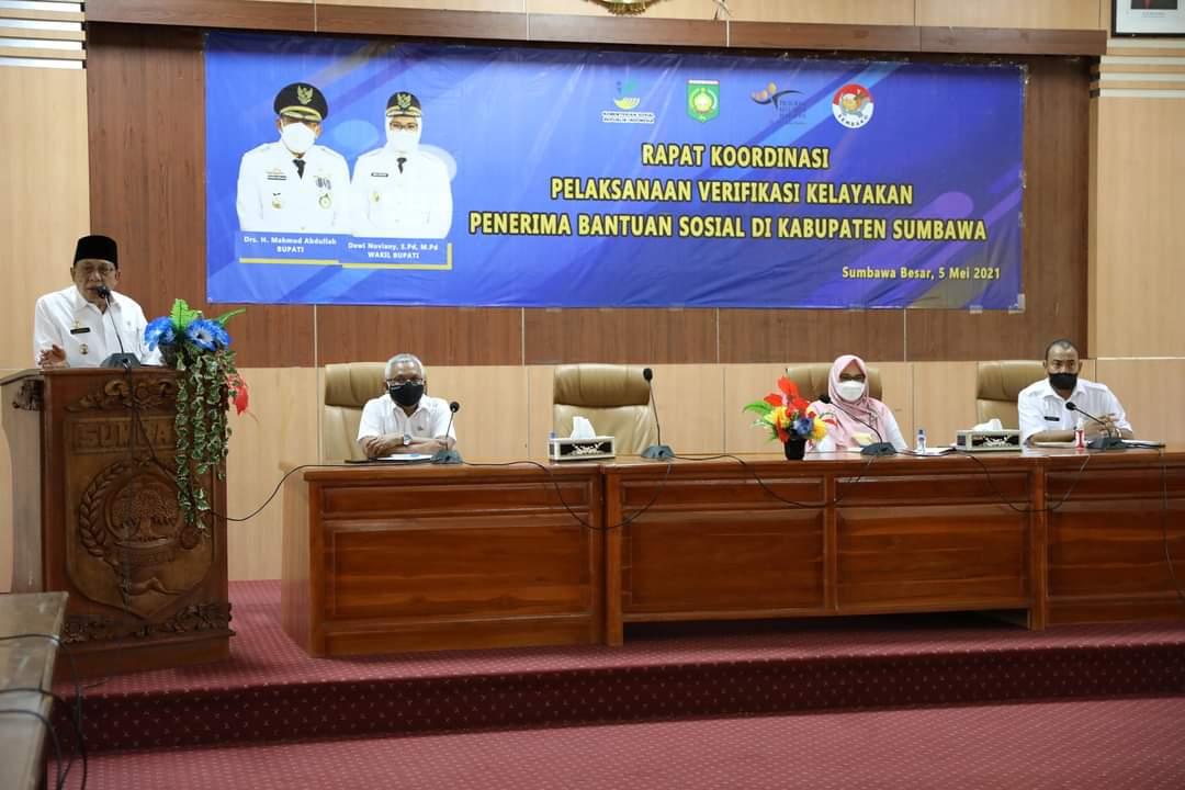 Bansos 2021 di Kabupaten Sumbawa Senilai Rp 2,8 Miliar