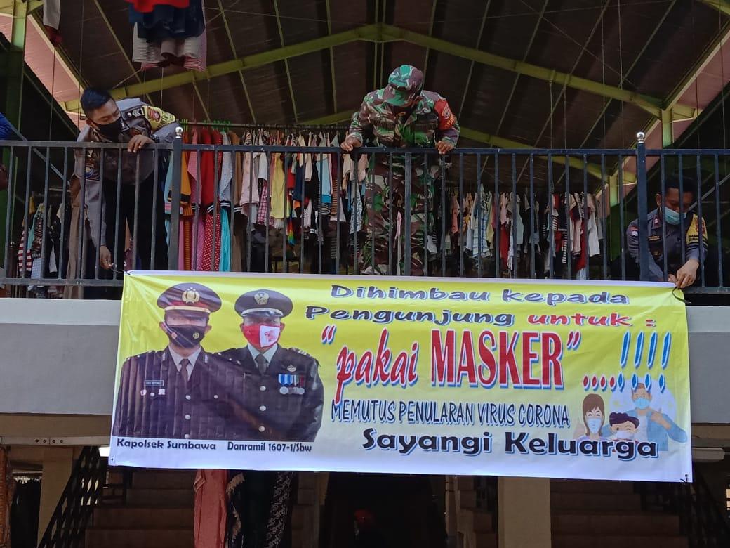 TNI-Polri Kompak Pasang Himbauan