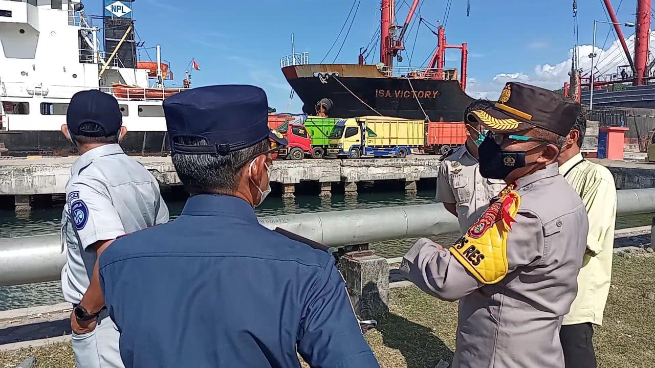 Polisi Perketat Penjagaan Pelabuhan Badas