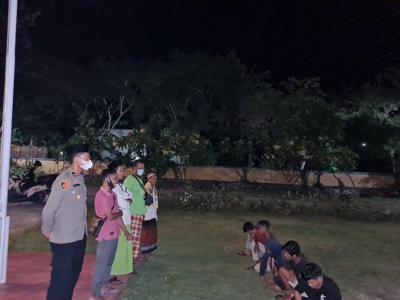Para Remaja di Rhee Ini Diamankan Polisi