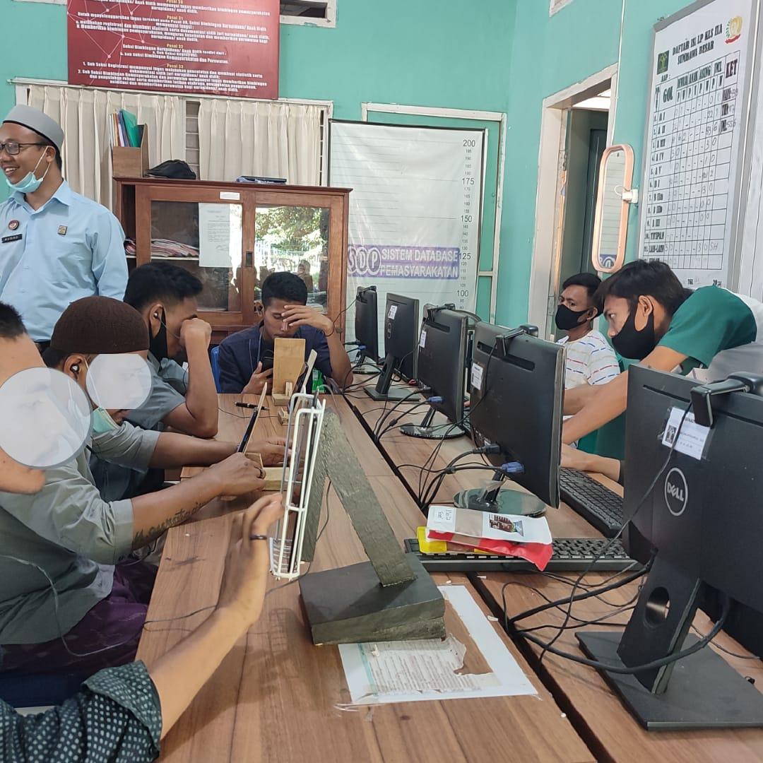 Warga Binaan Lapas Sumbawa Bisa Pakai Komputer dan Tablet