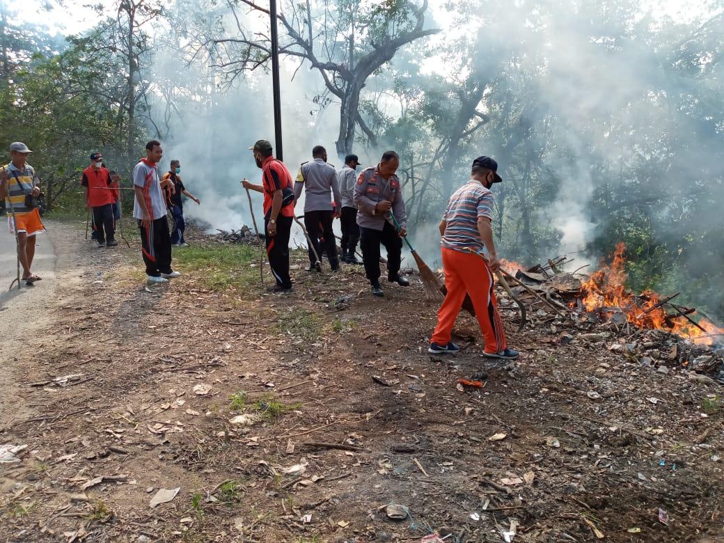 Stop Buang Sampah Sembarangan di Lenangguar