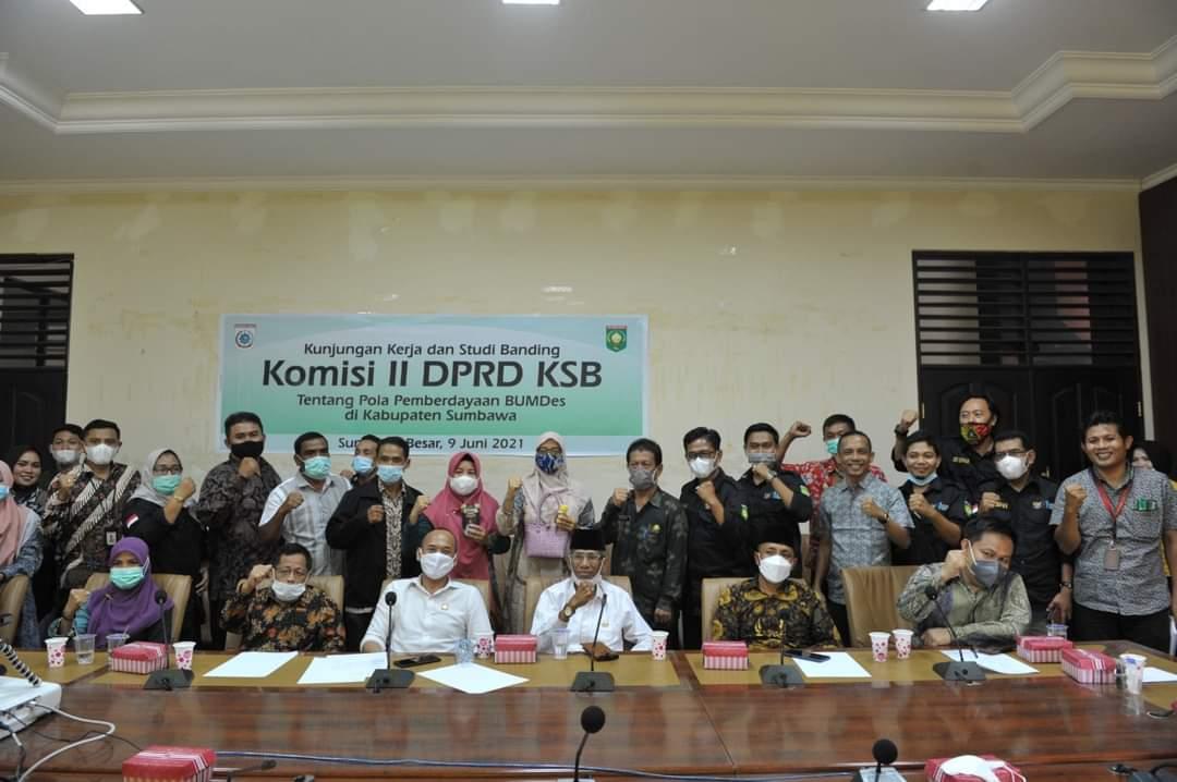 Dewan KSB Belajar ke Sumbawa