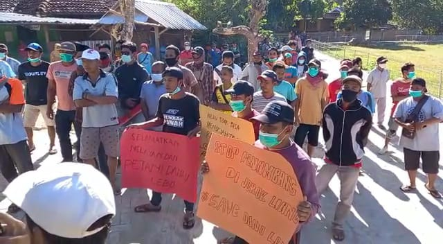 Segera Tutup Tambang di Jorok Liang, Warga Seloto Terancam