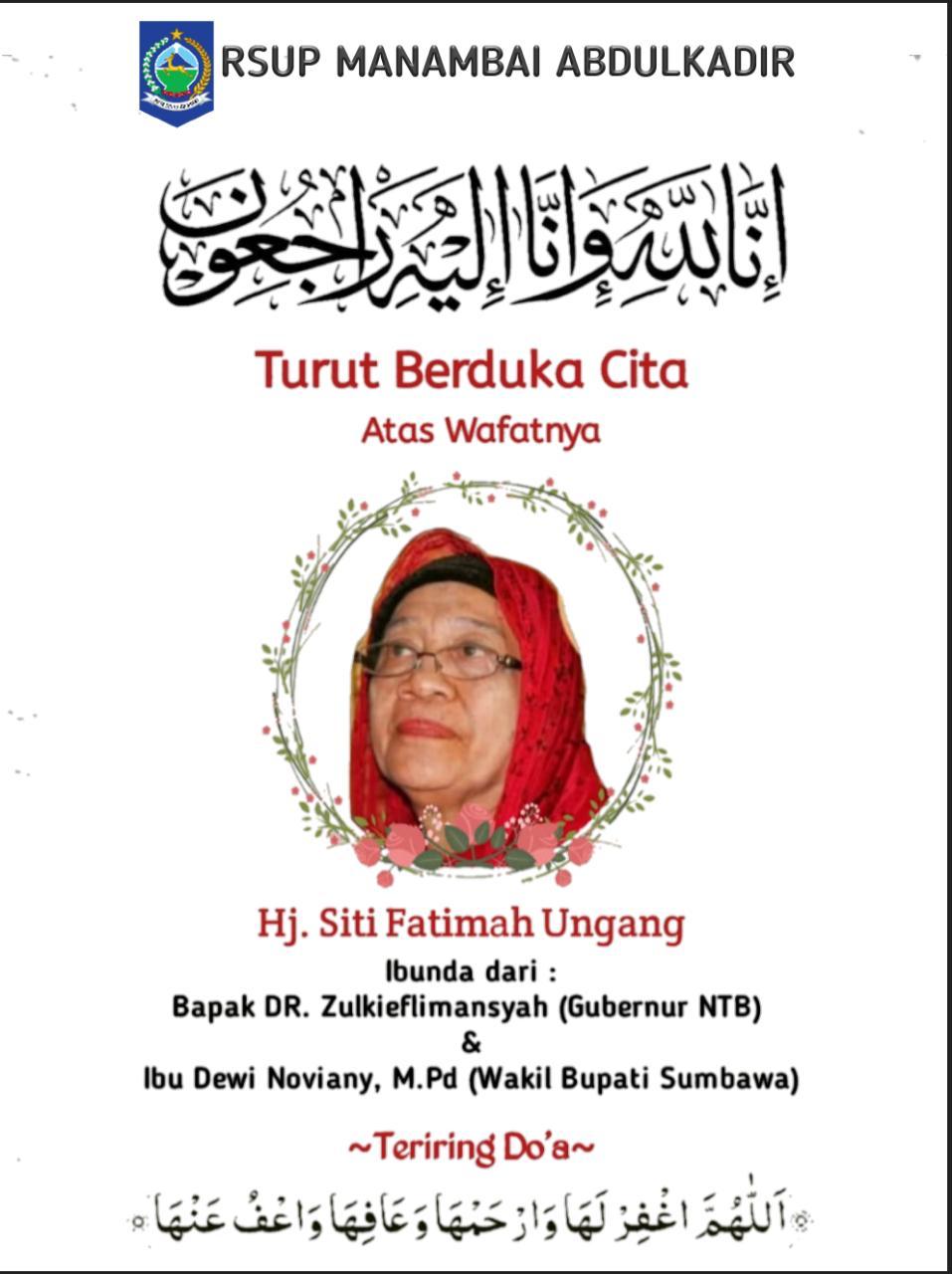 RSUP Manambai Abdul Kadir Berduka