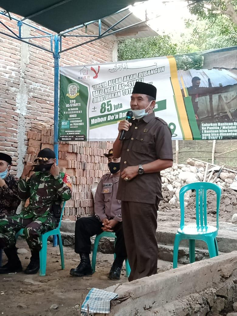 Ansori Bantu TPQ As-Syafi'i Sering