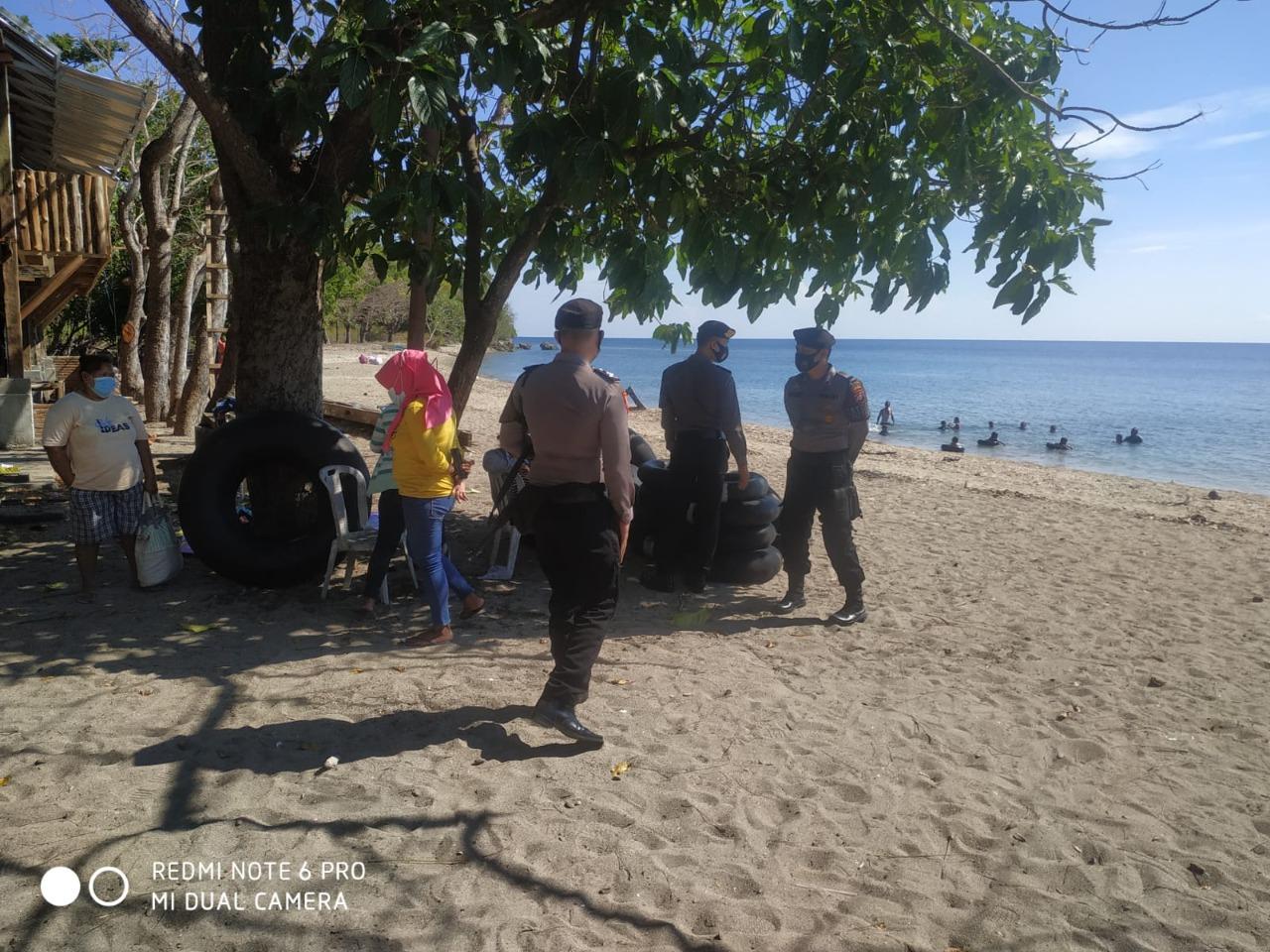 Polisi Pantau Tempat Wisata saat Weekend