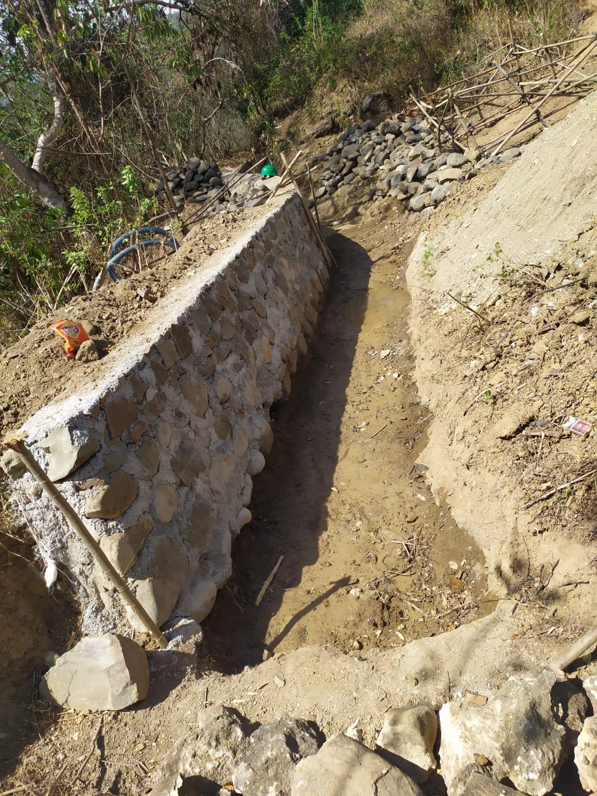 Petani Orong Balit Lenangguar Harap Proyek Irigasi Segera Rampung