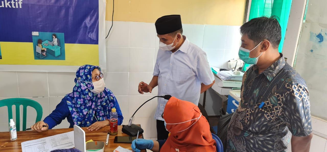 Vaksinasi Goes To Desa Disupport Waka 1 DPRD Sumbawa