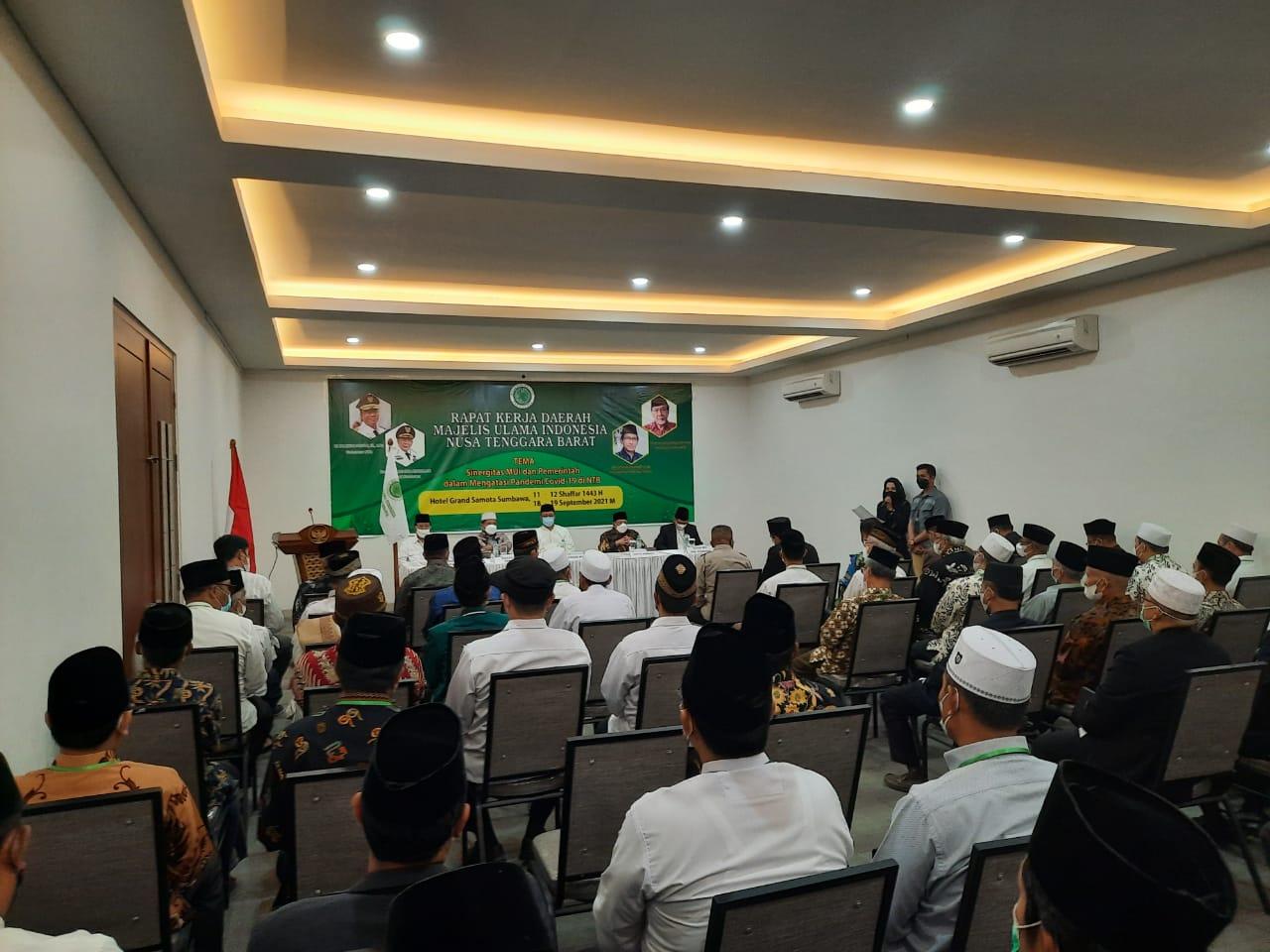 Rakerda Terbaik MUI NTB di Sumbawa, Gubernur Sampaikan Pesan Khusus, MUI Berkomitmen