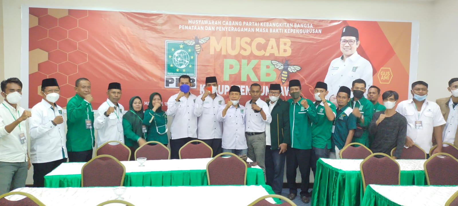 H. Ilham Ketua PKB Sumbawa 2021/2026