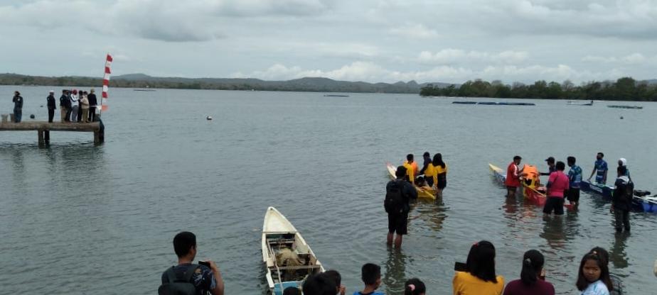 Sponsori Festival Balap Sampan, Cara Ansori Kampanyekan Kelestarian Laut