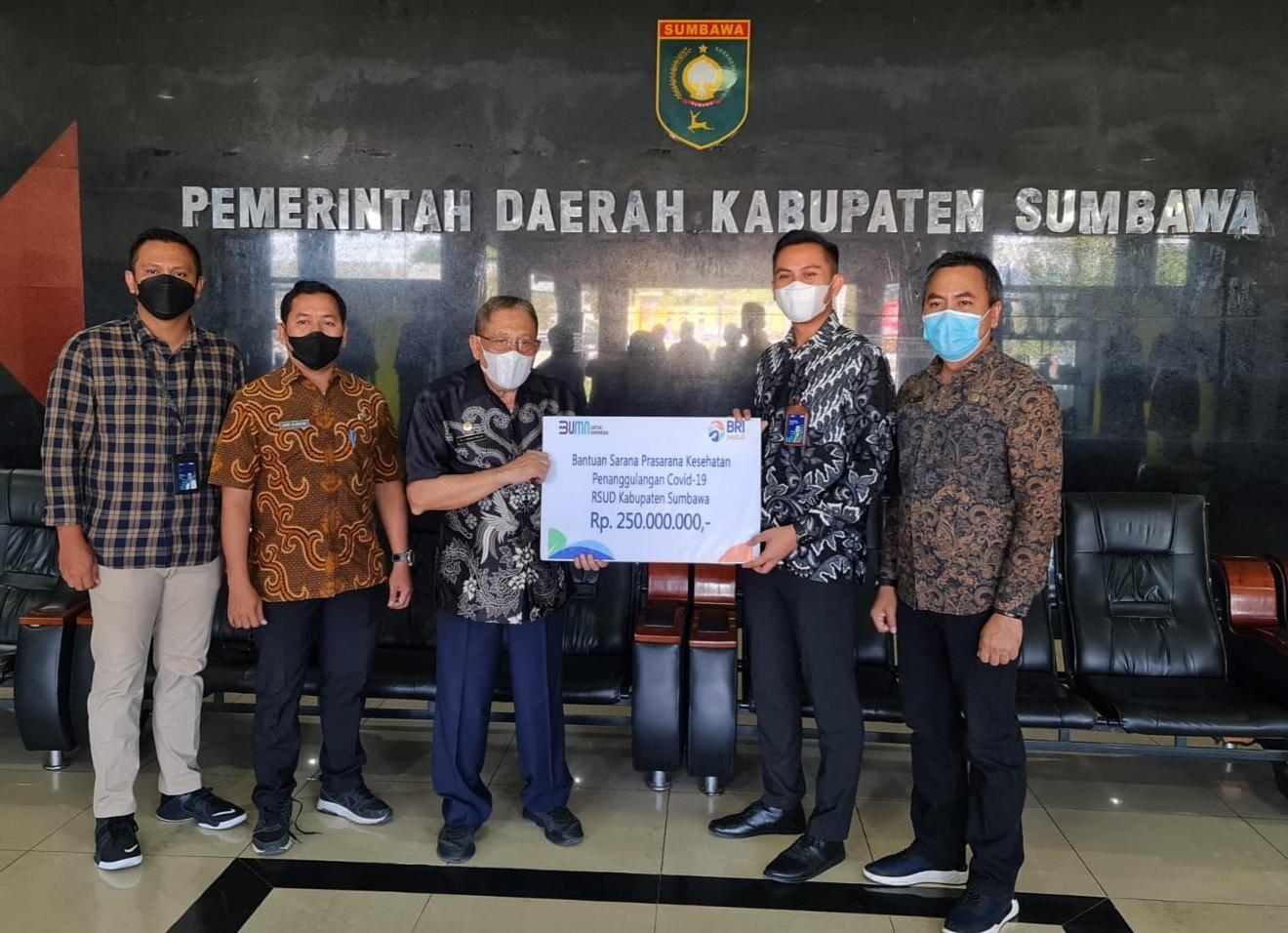 Peduli Kesehatan, BRI Berikan Bantuan Alkes ke RS Wilayah Bali Nusra